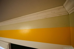 Putting up new crown molding